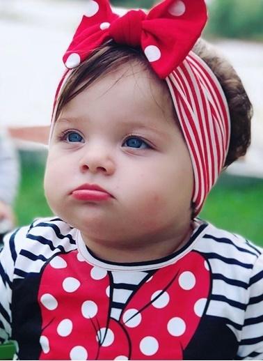 Baby Giz Bandana Kırmızı